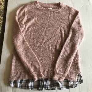 Sonoma sweater womens Pink size M